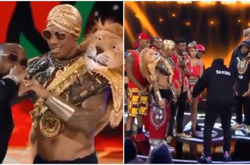BADDEST !! Davido roasts American star Nick Cannon on a Rap Battle [VIDEO]