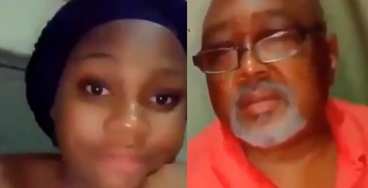 Lady shares video of her friend's dad she slept with as payback for sleeping with her boyfriend