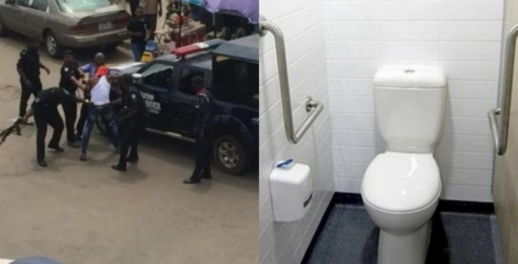 Teenage boy hides in bank toilet overnight to steal – Was caught with N340,000
