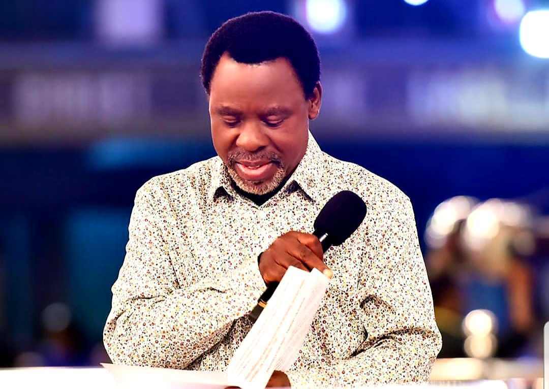 Nigerians Misunderstood My March 27 Prophecy – Prophet TB Joshua says