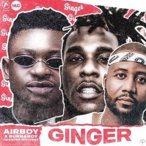 AUDIO : Airboy X Burna Boy X Cassper Nyovest – Ginger