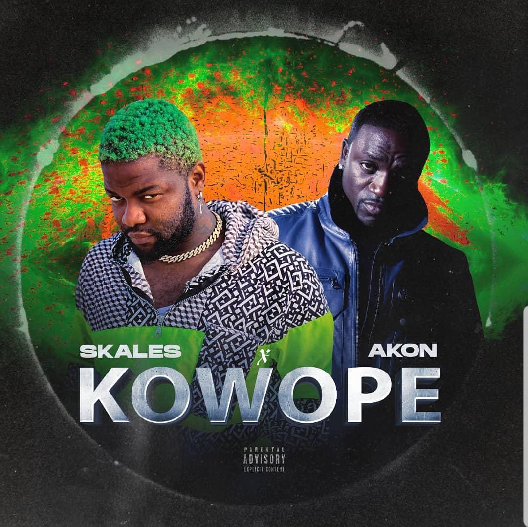 AUDIO : Skales ft Akon –  Kowope (Prod. by Rvge)