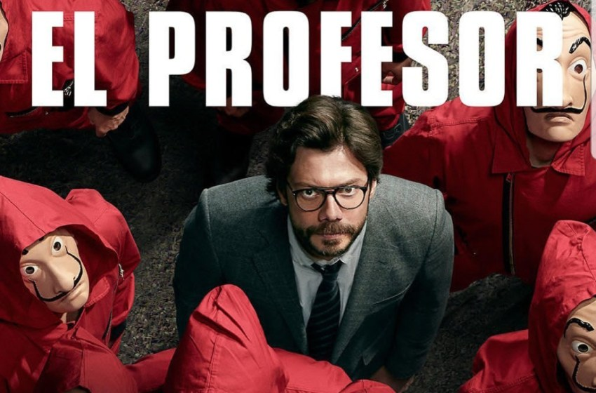 Professor of Money Heist reacts as Ikorodu Bois recreate season 4 trailer