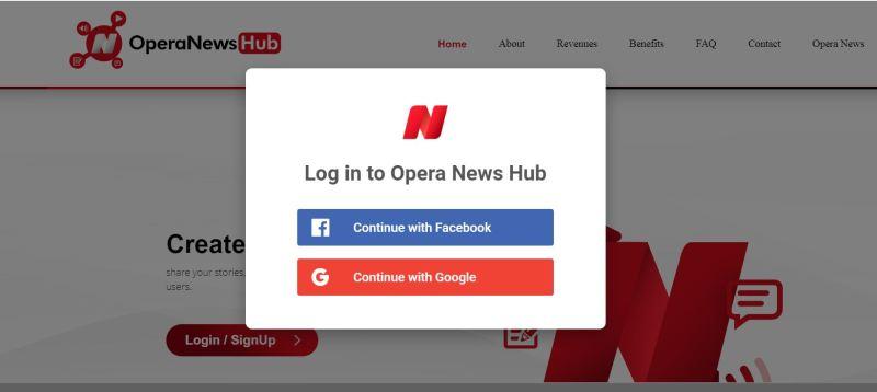 How to make money from Opera News Hub
