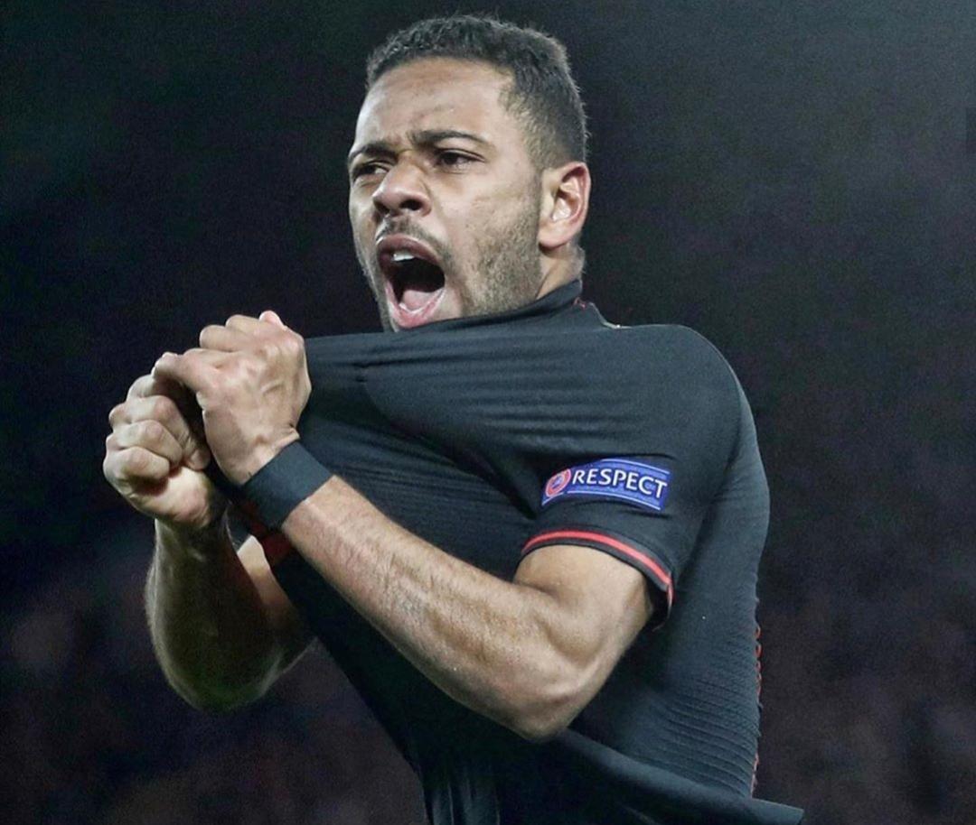 "Atletico Madrid defender ""Renan Lodi"""