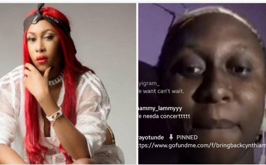 Fans fund Cynthia Morgan