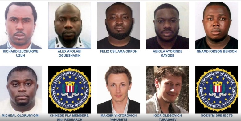 Nigerians attack FBI for listing 6 Nigerians among most wanted cyber criminals