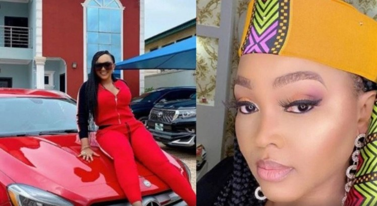 Mercy Aigbe celebrate as she hit 8 million followers on IG
