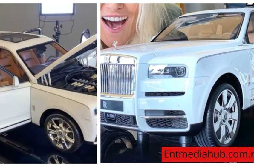 [Wow!]Checkout these Roll Royce toy car that worth ₦15.5M