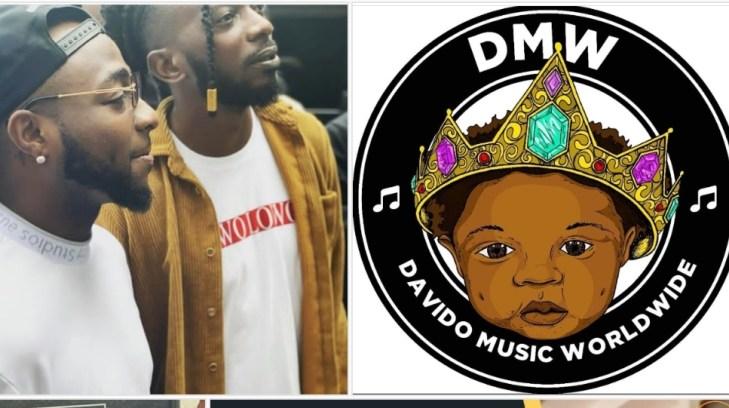 Davido signs May D to DMW