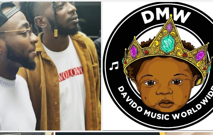Davido signs May D to DMW as they work on a new song together