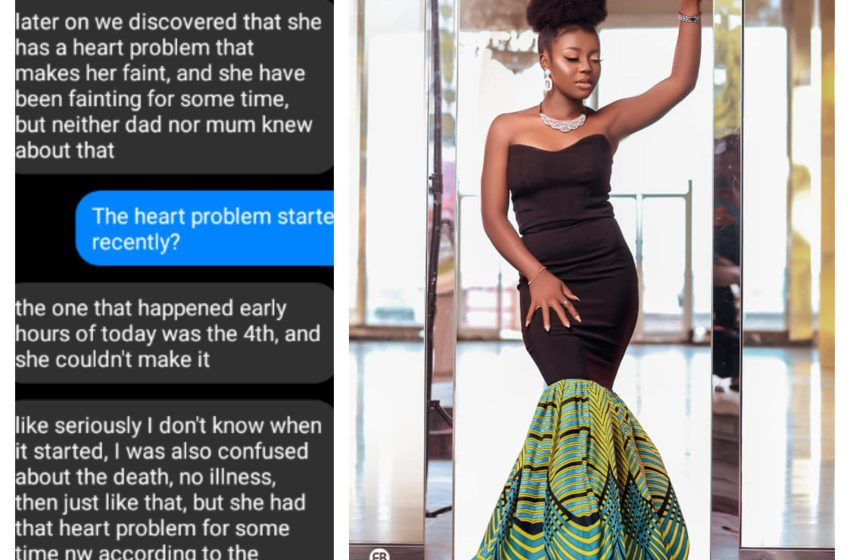 Nigerians blast bloggers as the real Cause Of Deborah's death emerges online(Leak chat)- She wasn't killed of poison