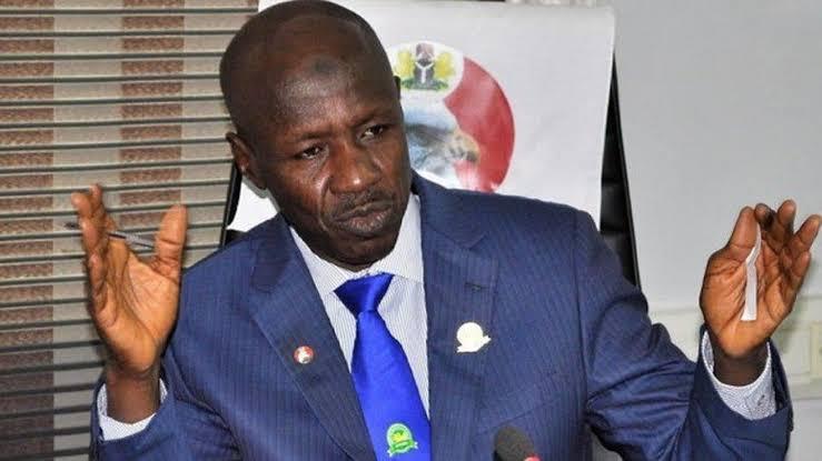 BREAKING!!! President buhari suspends Ibrahim magu the acting Efcc chairman