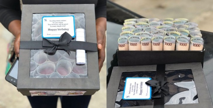 lady sends boyfriend money