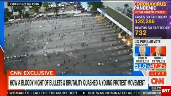 CNN Lekki Tollgate Shooting