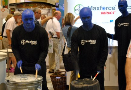 The Blue Men.