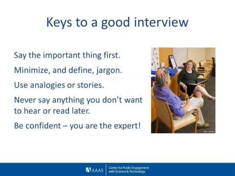 keys to good a interview