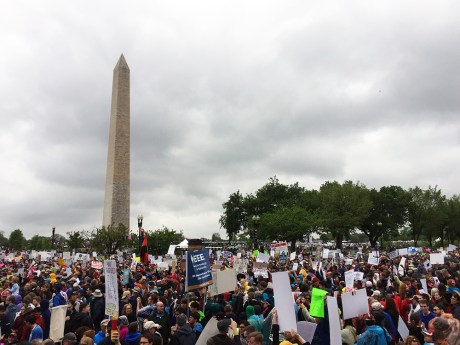 March for Science - crowd