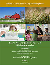 NIFA Capacity Funding Review cover