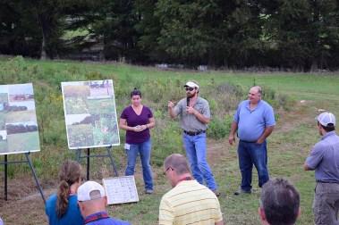 science policy field tour - Delta FARM
