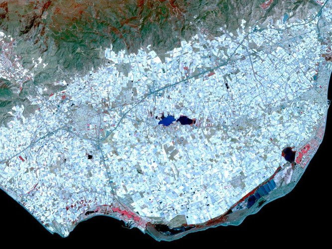 greenhouses from space