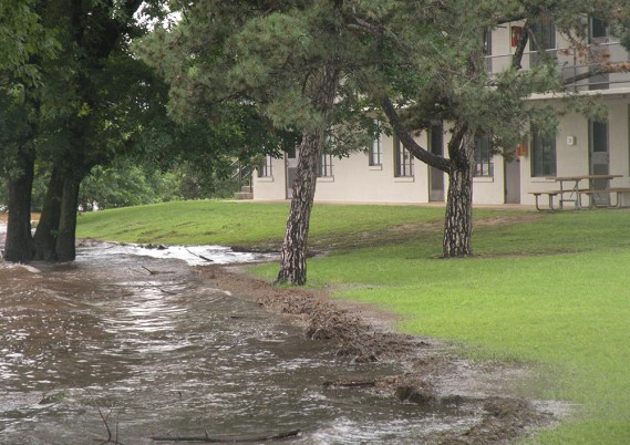 Flood at University of Oklahoma Biological Station