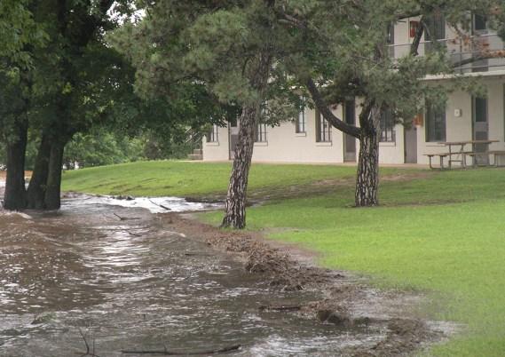 Flood at University of Oklahoma Biological Station