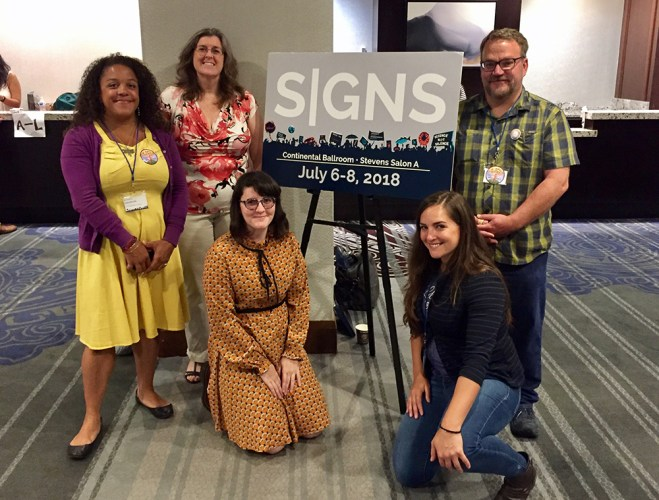 ESA delegates to March for Science SIGNS Summit