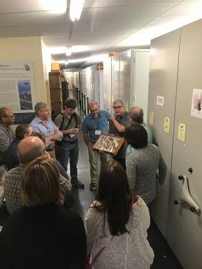 tour at Academy of Natural Sciencies