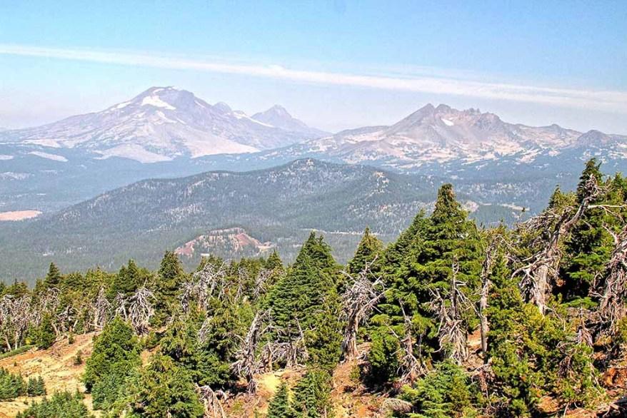 Three Sisters, central Oregon
