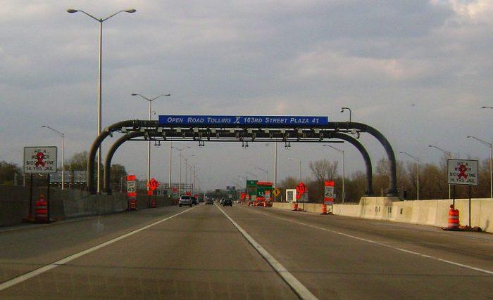 open road tolling lane