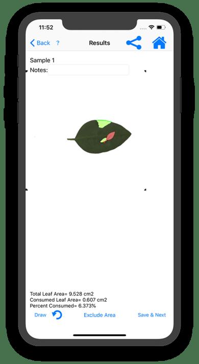 LeafByte results screenshot