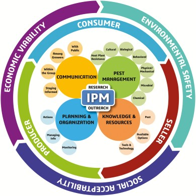 Infographic depicting new IPM paradigm