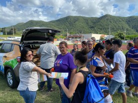 mosquito repellent distribution in Puerto Rico