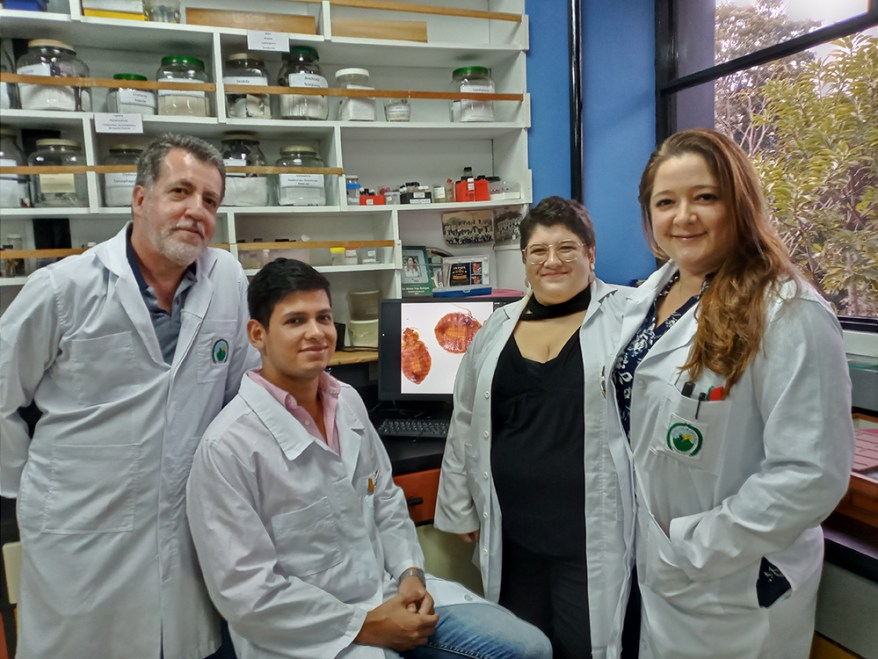 University of Costa Rica microbiology researchers