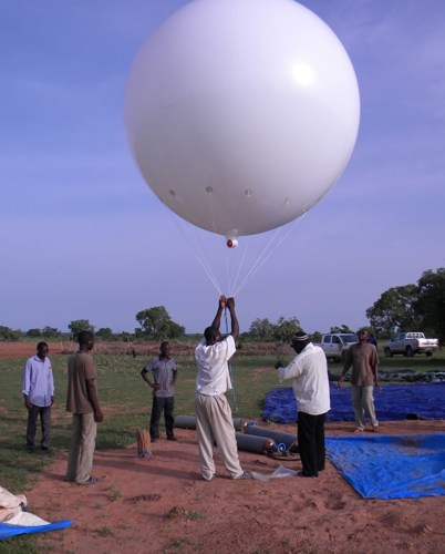 mosquito high-altitude study balloon