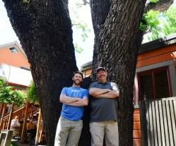 Jackson Audley and Steven Seybold