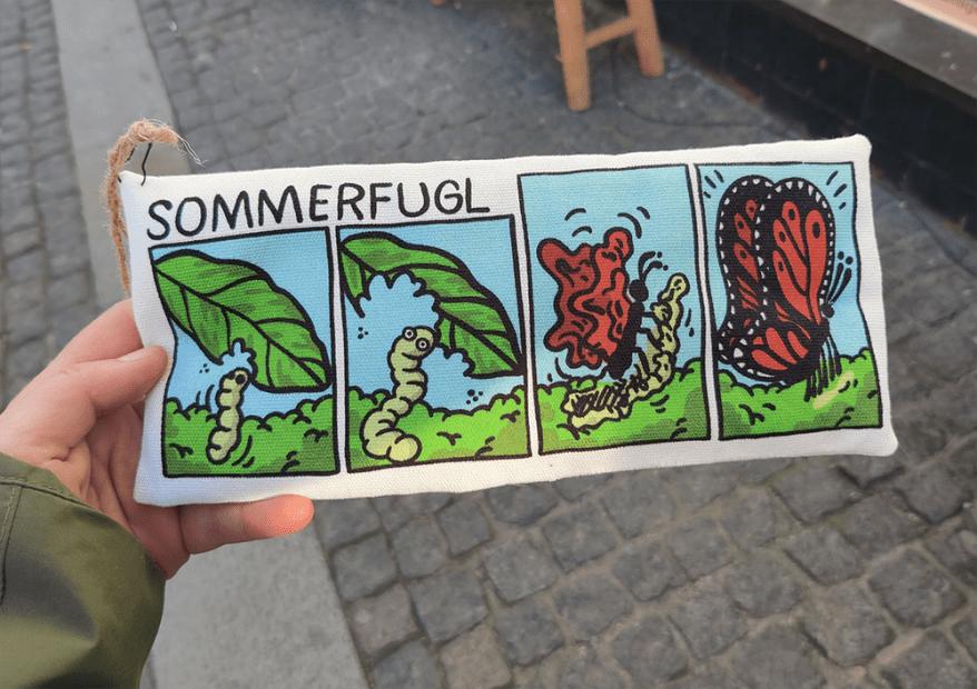 sommerfugl (butterfly)