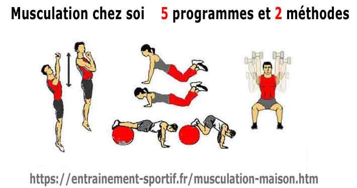 Musculation La Maison Comment Se Muscler Efficacement