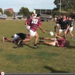 Préparation physique rugby échauffement