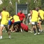 Entrainement rugby club de Béziers