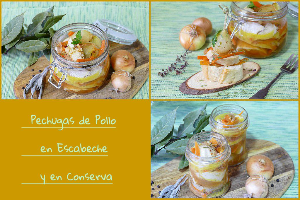 Photo of Pechugas de Pollo en Escabeche