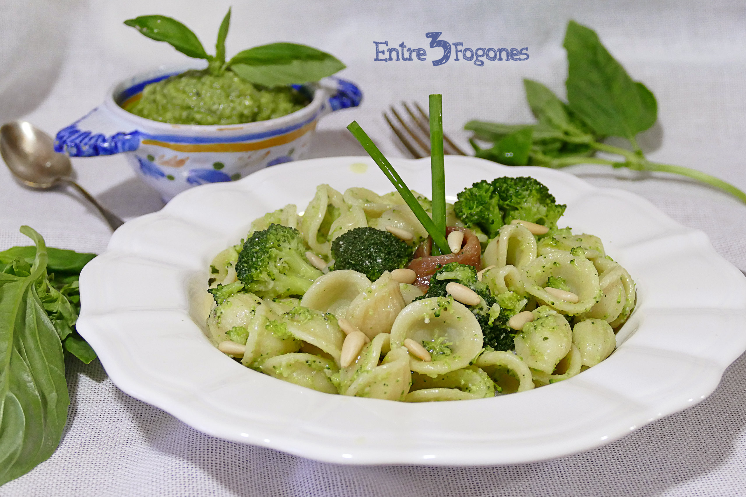 Photo of Orecchiette con Pesto de Brócoli y Anchoas