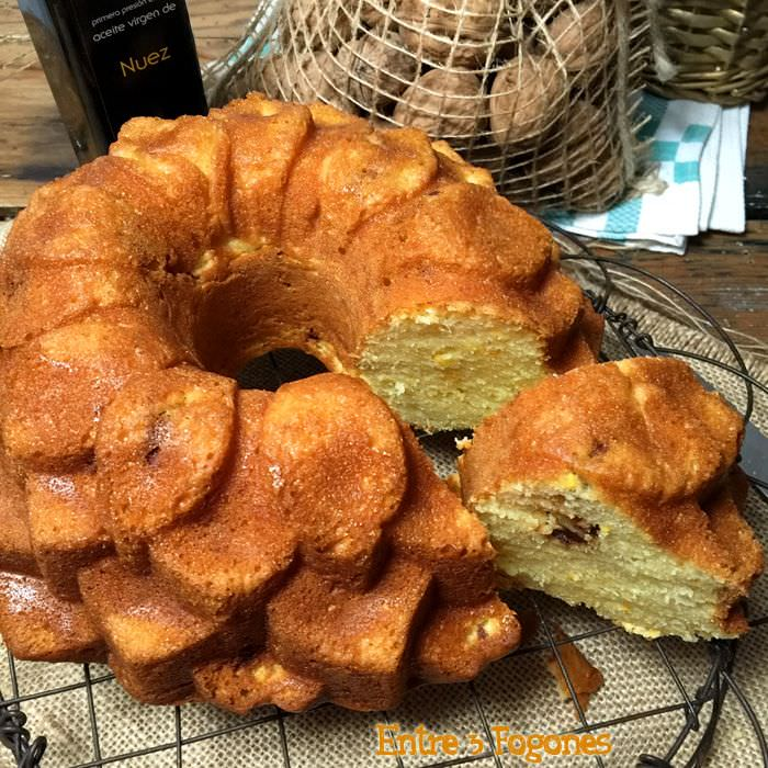 Photo of Bundt Cake de Naranja con Nueces Caramelizadas