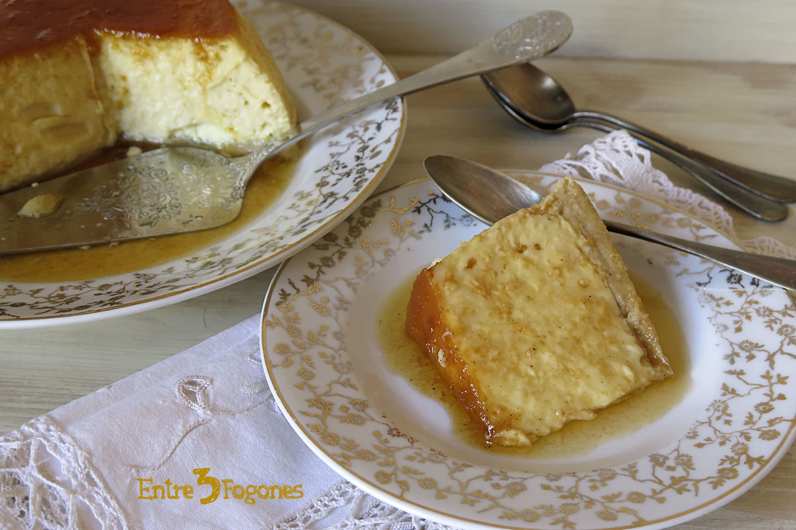 Photo of Flan de Huevo con Galletas Napolitanas