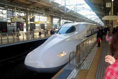 Shinkansen a Hiroshima