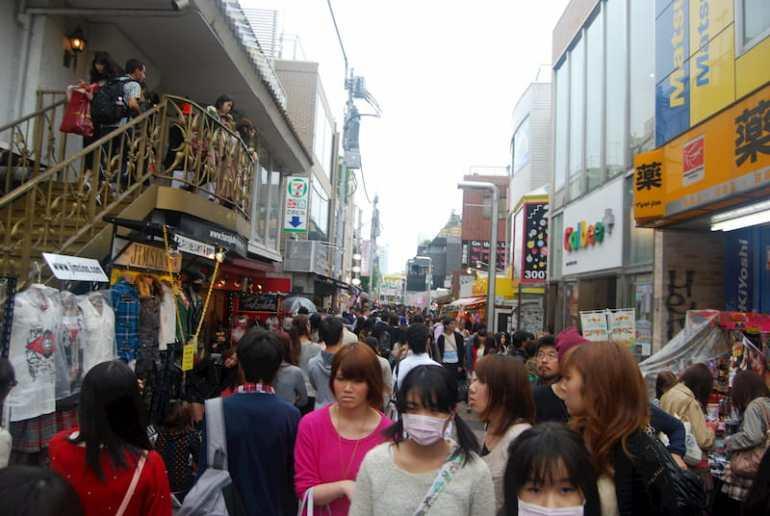 Takeshita Dori en Harajuku
