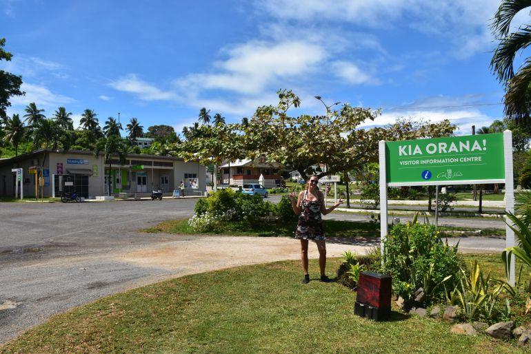 Arutanga, el pueblo de Aitutaki