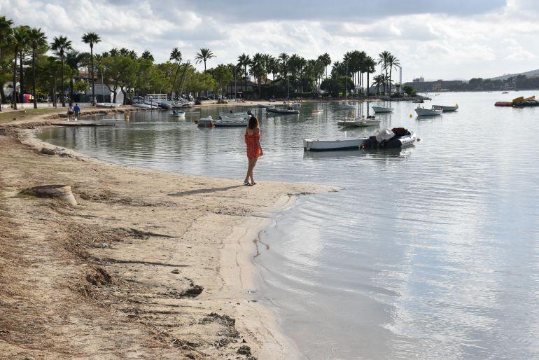 Alcúdia, playas bonitas de Mallorca para ir con niños