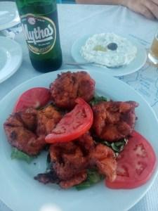 Domatokeftedes, tomates fritos griegos
